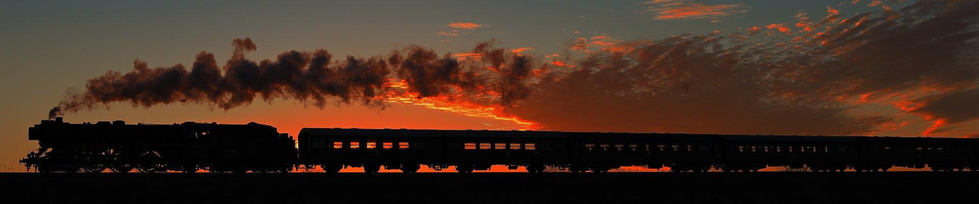 Virus Dampf - Eisenbahnfotos von Steffen Knitter-Richling